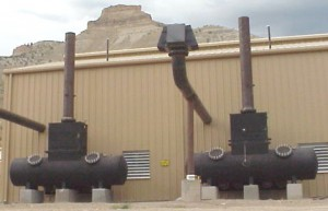 Figure 3: Field Site - Two Horizontal Converters.