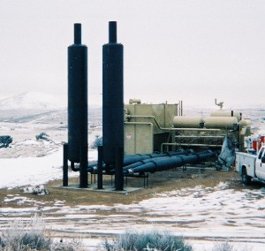 Figure 5: AJAX 2804LE with Expansion Chambers in New Mexico.