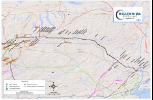 Millennium Pipeline Map – Millennium Pipeline