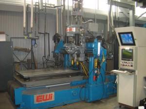 Figure 5: Fixed Friction Stir Welding equipment.