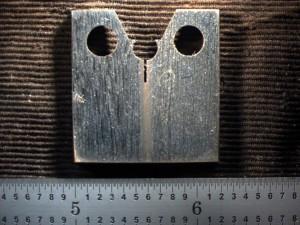 (b)  Fracture mechanics specimen.