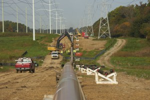 3.	STV's natural gas pipeline system reinforcement project in Howard County, Maryland.