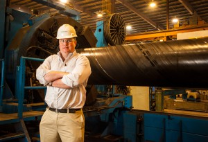 John Stupp's nephew Chip McAlpin is director of Continuous Improvement for the pipe division.