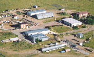 An aerial view of the CEESI testing facility.