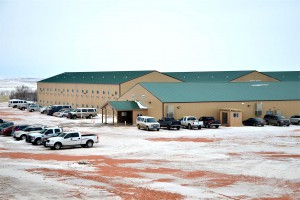 Target Logistics living facility near Watford City, ND.