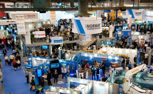 The Offshore Technical Conference, held annually in Houston, drew a record 105,000 attendees in 2014.