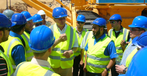 Onsite training and last-minute instructions to the team in the UAE.