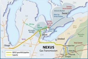 Nexus gas transmission