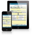 PCS mobile instruction forms.
